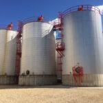 Ethanol Tanks At Homeland Energy Solutions - Iowa